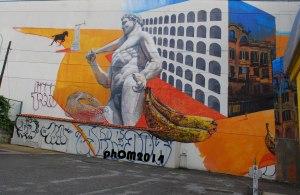 Il piccone demolitore e risanatore - Metro San Paolo - Gaia - Roma