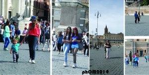 Gente - Piazza del Popolo - Roma