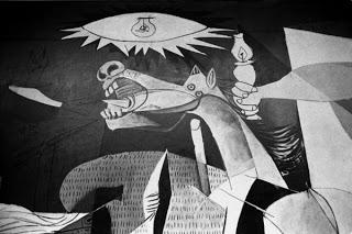 Guernica (particolare) - Pablo Picasso