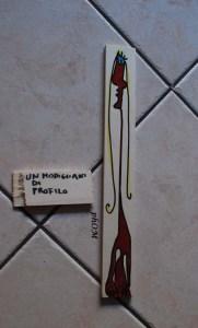 Il Modigliani di profilo - Fausto Delle Chaie